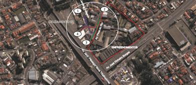 Empresa de Requalificação Urbana de uma Praça Jardim Ipaussurama - Requalificação Urbana em Favela