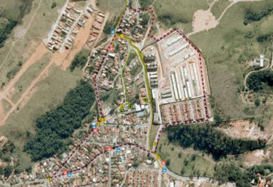 Onde Faz Plano de Mobilidade Urbana Sustentável Alambari - Plano de Mobilidade Urbana Estratégica