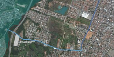 Onde Faz Requalificação Urbano Ambiental Jardim Monte Cristo/Parque Oziel - Requalificação Urbana em Favela